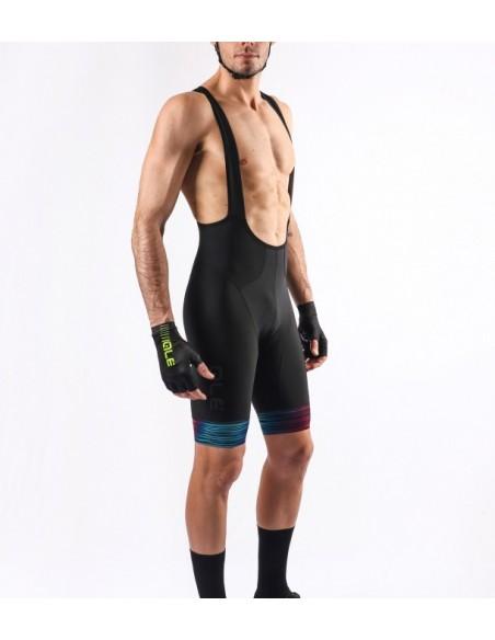 Pantaloncini ciclismo ALE' GRAPHICS PRR GLASS petrolio turchese 2019