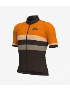 Maglia ciclismo ALE' SOLID START nero verde 2019