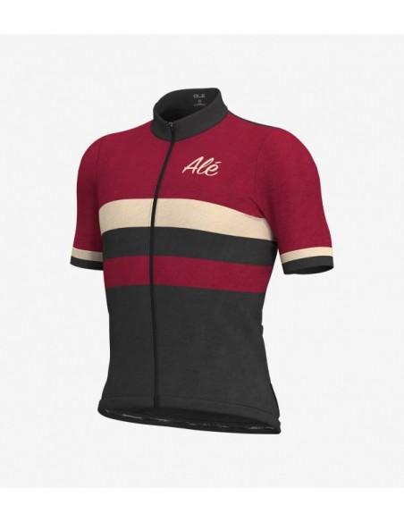 Maglia ciclismo ALE' CLASSIC VINTAGE arancione 2019