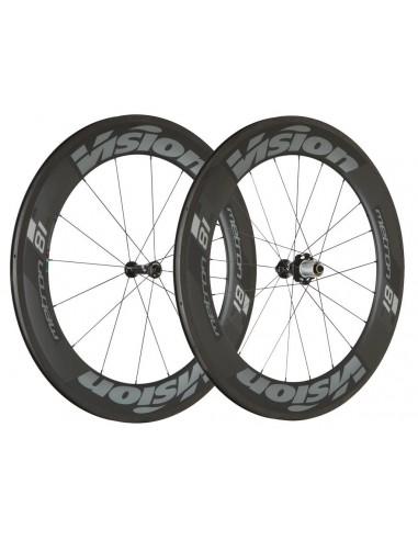 Coppia ruote VISION TRIMAX carbon 40 CSI db CL disc brakes