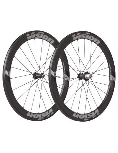 Coppia ruote in carbonio VISION Metron 81 SL copertoncino