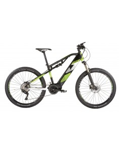 MTB elettrica BAFANG E-bike Vektor biammortizzata E-SHIVER 27,5