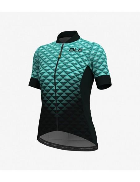 Maglia ciclismo ALE' SOLID BOLAS HEXA rosa 2019