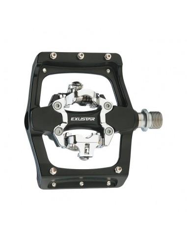 bmx e-pm-820-2 corpo in alluminio EXUSTAR flat bici pedali coppia pedali mtb