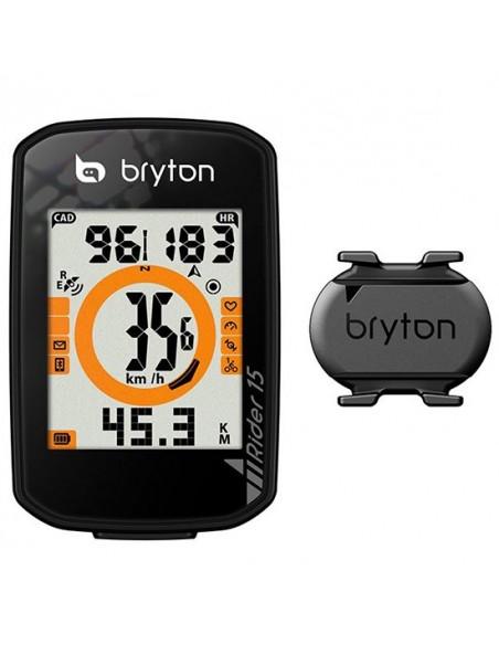 Ciclocomputer GPS bici BRYTON Rider 10C cadenza