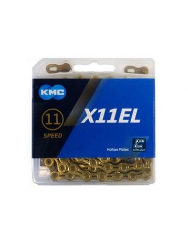 Catena KMC X-11-EL gold 11 velocita'