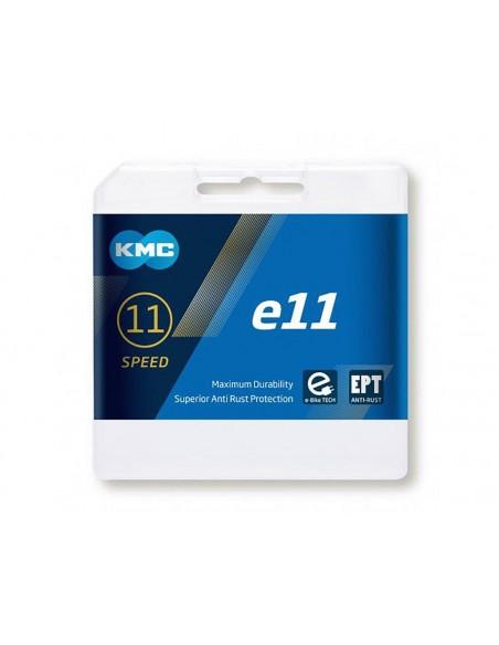 Catena per bici elettrica KMC E11 E-Bike 122 maglie EPT
