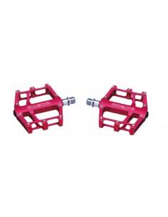 Coppia di pedali Exustar Freeride Enduro flat piatti alluminio