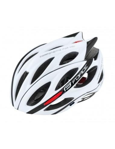 Casco bici MTb e corsa Force Bull bianco 2020