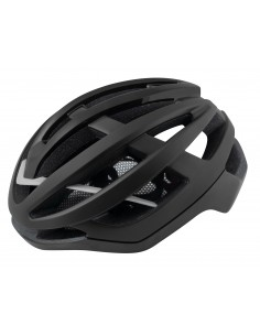 Casco bici da strada road Force lynx nero opaco