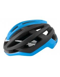 Casco bici da strada road Force nero blu opaco