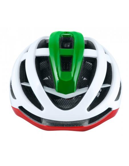 Casco bici da strada road Force lynx ITALIA tricolore