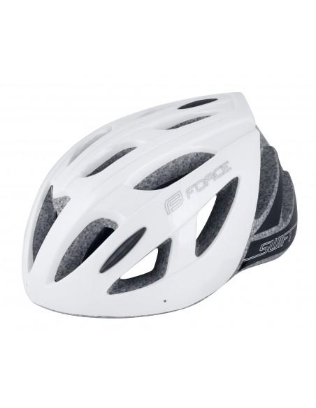 Casco Mtb e bici da strada road Force SWIFT bianco