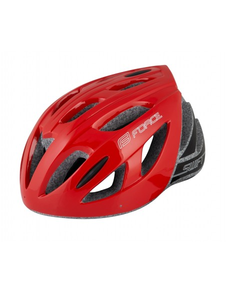 Casco Mtb e bici da strada road Force SWIFT rosso