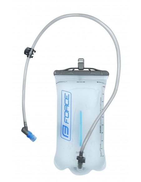 Zaino idrico con sacca idrica MTB FORCE Aron ACE plus 10 litri + 2 nero