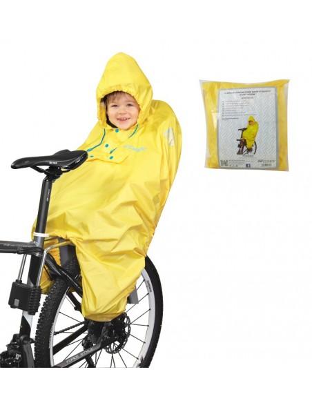 Mantellina ciclismo antipioggia FORCE trasparente