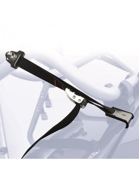 Portabici posteriore PERUZZO Padova in alluminio 3 bici art. 650/3