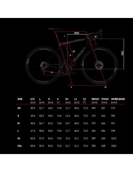Bici da corsa in carbonio WILIER Cento1NDR 2019 DISC