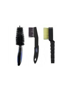 Set 3 spazzole Barbieri per...