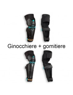 Kit Ginocchiere + Gomitiere MTB BLUEGRASS Big Horn BIMBO XS
