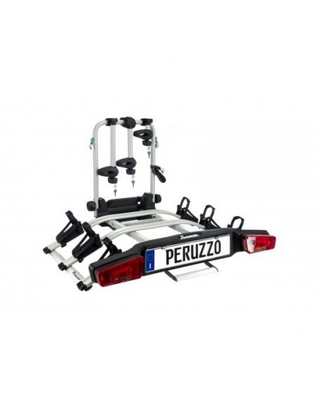 Portabici gancio traino PERUZZO ZEPHYR 713/3 per ebike 3 4 bici