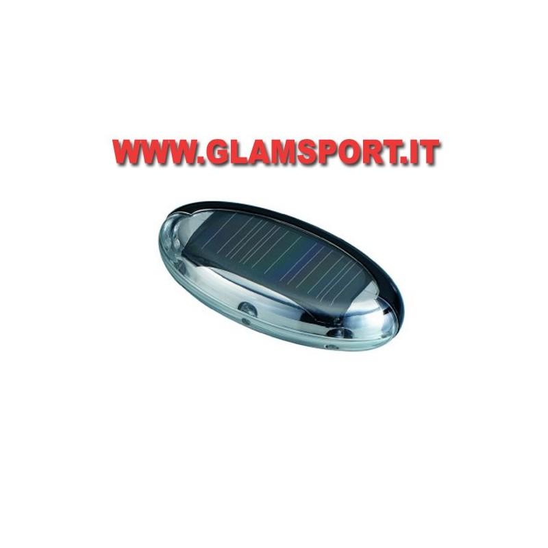 Pannello Solare Per Bicicletta : Luce anteriore per bici con panello solare owleye ls t