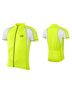 18124 - FORCE GIACCA T10 SH.SLEEVE FLUO/WHITE