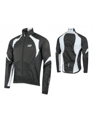 18129 - FORCE GIACCA X53 WINDPROOF BLACK/-WHITE
