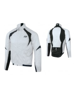 18131 - FORCE GIACCA X53 WINDPROOF WHITE-BLACK