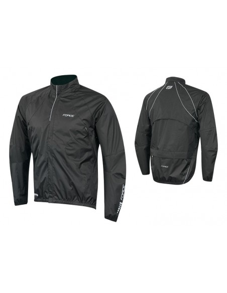 18133 - FORCE GIACCA X64 WINDPROOF BLACK