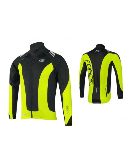 18134 - FORCE JERSEY GIACCA MAN F.X68 FLUO