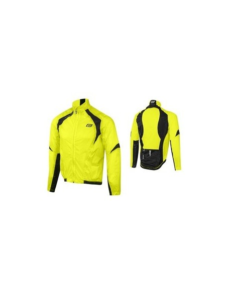 18130 - FORCE GIACCA X53 WINDPROOF FLUO-BLACK