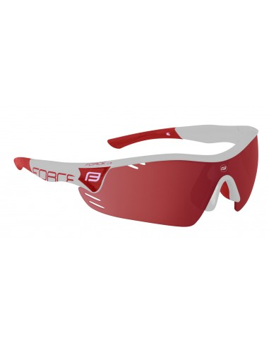 18062 - FORCE OCCHIALI PRO RACE WHITE/RED 909302