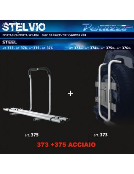 14109 - PERUZZO PORTABICI AUTO C/BINARI 4X4 STELVIO 373+ 375 ACC