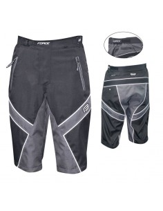 13175 - FORCE PANTALONI SHORTS FREERIDER NERO