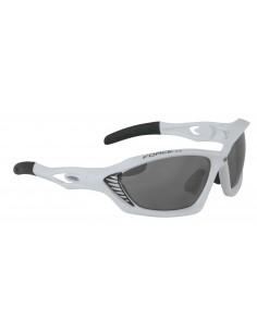 Occhiali ciclismo FORCE Max bianco-nero