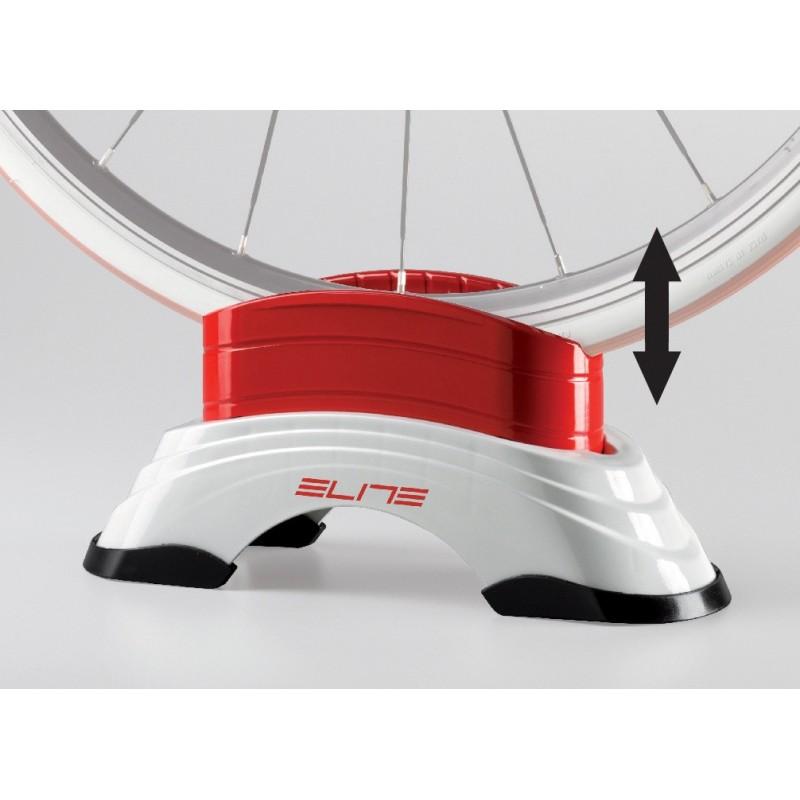 Supporto ruota anteriore regolabile ELITE per rulli bici ELITE SU-STA