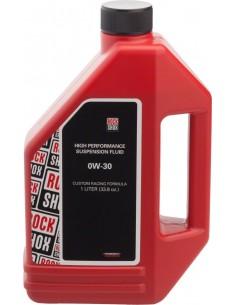 Olio per forcelle Rock Shox lubrificazione foderi PIKE 0-W30 1 LITRO