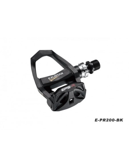 BA12143 - EXUSTAR COPPIA PEDALI ROAD E-PR 200 BLACK KEO COMP 244