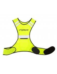 Pettorina riflettente running e sport Force