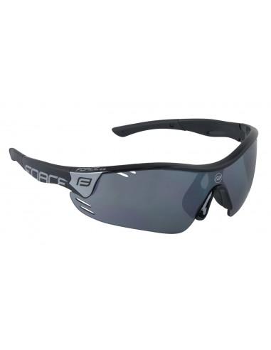Occhiali ciclismo FORCE Pro Race bianco-blu