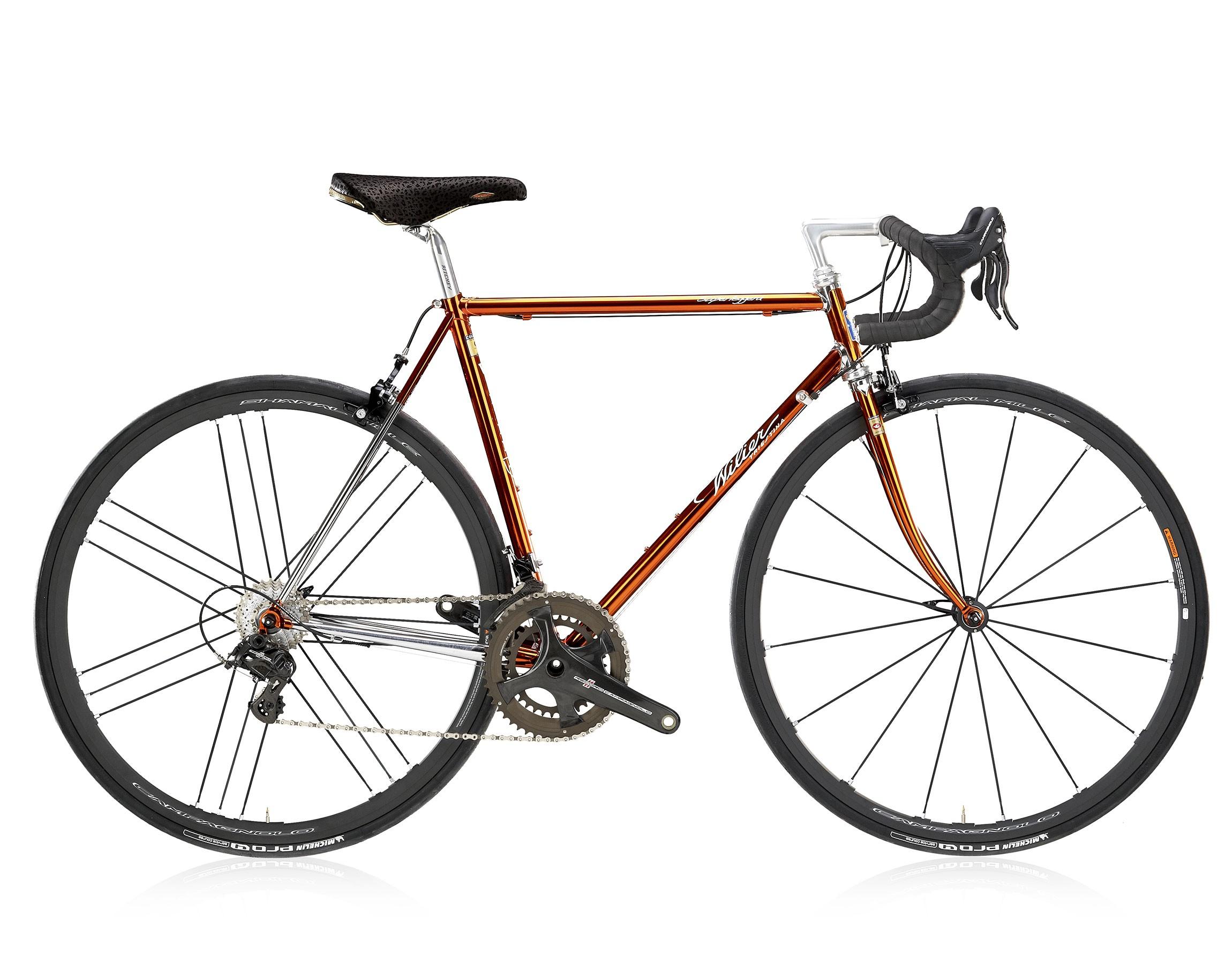 Bici corsa acciaio